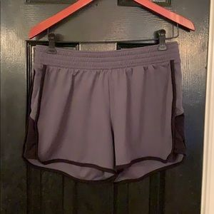 Champion large gray athletic shorts